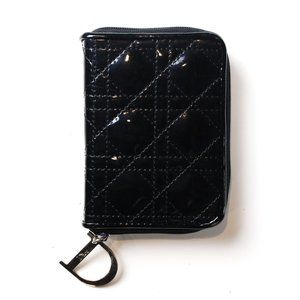 Dior Patent Leather Makeup Pouch
